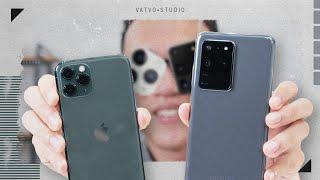 Camera iPhone 11 Pro sấp mặt với S20 Ultra?