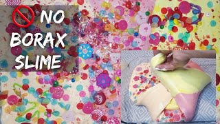 How to do COLOURFUL SLIME with BUTTONS | Glue and Shaving FOAM slime recipe