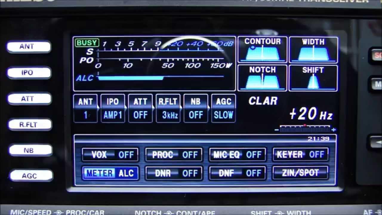 ALPHA TELECOM: YAESU FTDX-3000D DEMONSTRAÇÃO, IMPRESSÕES, RECURSOS e FUNÇÕES