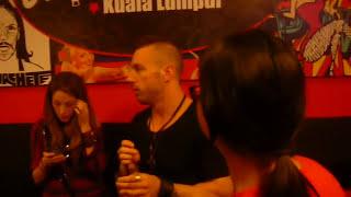 The Dillinger Escape Plan (and Jenna Haze) Makan-makan and Meet & Greet at Switchblade KL, Malaysia