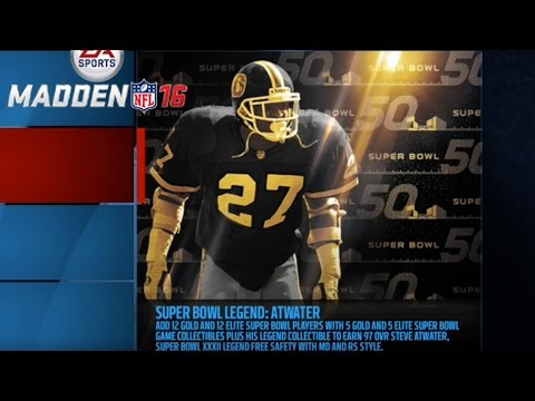 SUPER BOWL XXXII: LEGEND CHALLENGE! NEW STEVE ATWATER LEGEND! | Madden 16 Ultimate Team | MUT 16