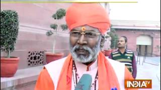 BJP Leader Saksi Maharaj Says Nobody Is Forcing To Convert Religion - India TV