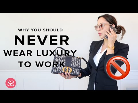 WHY YOU SHOULD NEVER WEAR LUXE TO WORK + BEST (QUALITY) WORK BAGS (ad: Includes A Gifted Item)