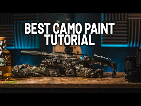 Best Camo Spray Paint Tutorial: How to paint your RIF