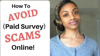 AVOID Paid Survey SCAMS + The BEST Legit Paid Survey Sites!