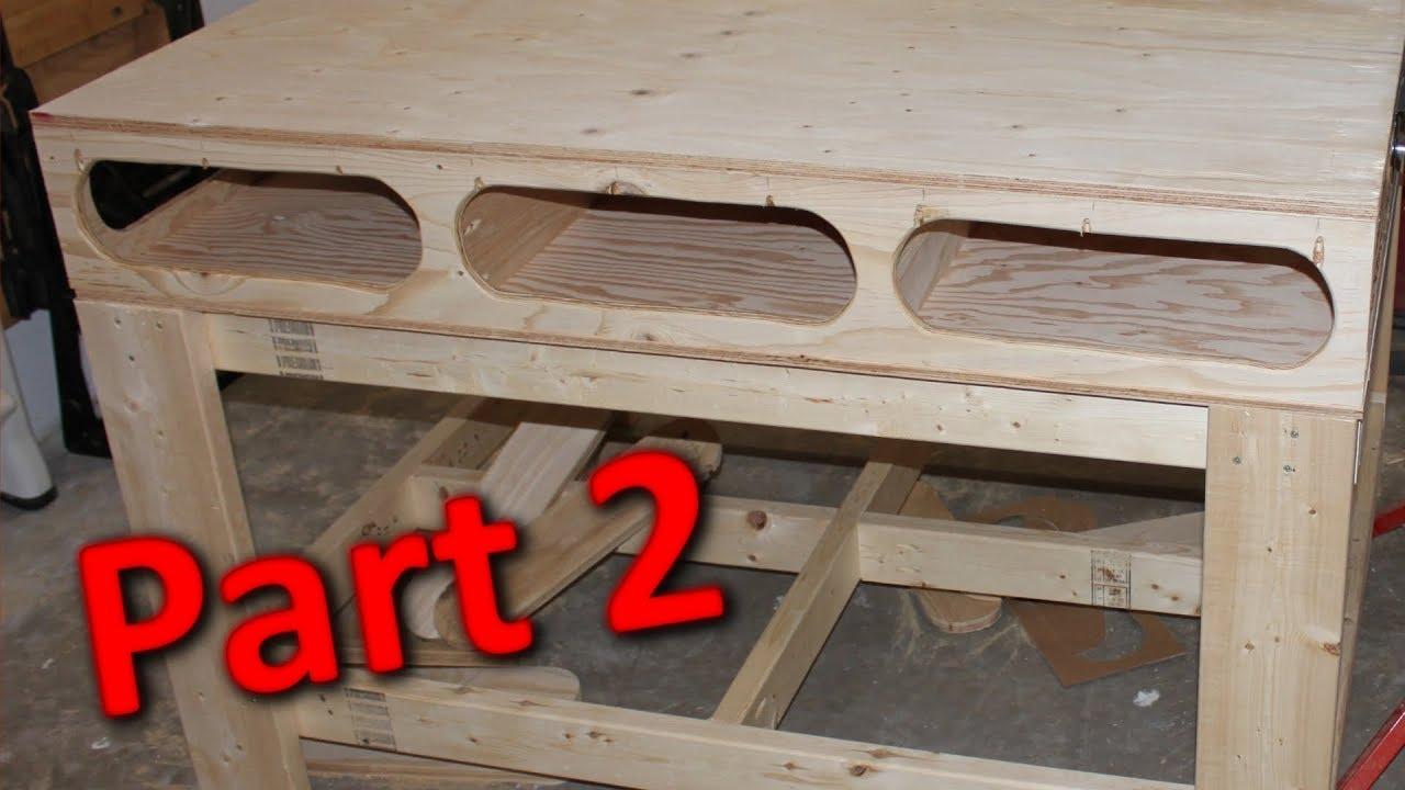 Building The Ron Paulk Workbench Part 2 Torsion Box
