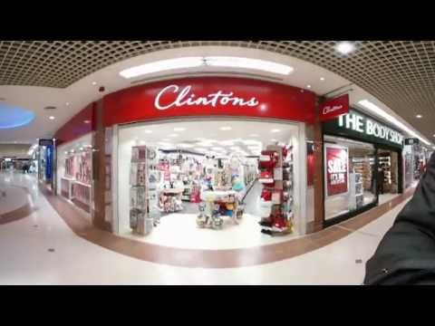 360 Video of Weston-super-Mare and Sovereign Shopping Mall