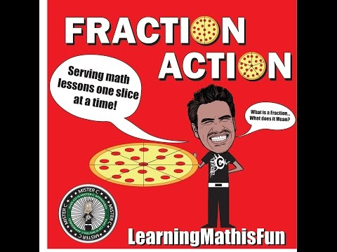 Fraction Action Math Song| Mister C (Song #10)