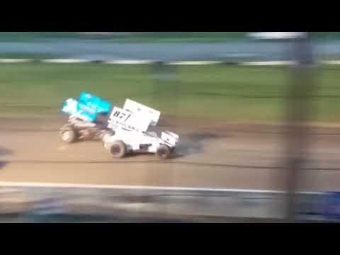 5/26/18 Fonda Speedway  Lucas oil EMPIRE SUPER SPRINT HEAT RACES