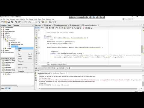 How To Make A Web Browser In JavaFx (Netbeans)
