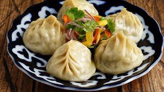 Вот, как нужно готовить МАНТЫ! Все дело в тесте! Самые сочные узбекские манты - Даже кушать жалко!