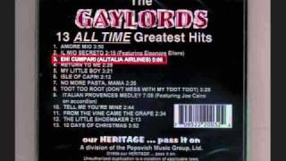 The Gaylords-Eh Cumpari (Alitalia Airlines)
