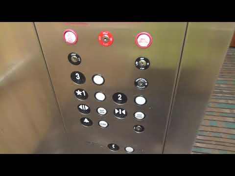 United ThyssenKrupp elevator at the Quality Inn Bristol (fmr Microtel) with Room Tour