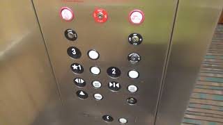 United ThyssenKrupp elevator at the Quality Inn Bristol fmr Microtel with Room Tour