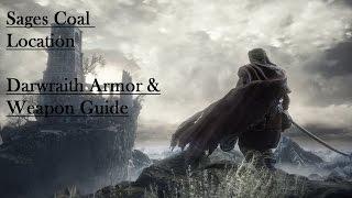 Dark Souls 3 Sages Coal Farron Keep Location! Darkwraith Armor and Dark Sword Farming