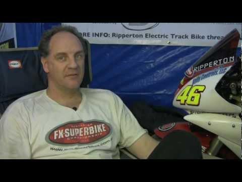eFXC | TTXGP Electric Motorcycle Championship Australia 2012 - Queensland Raceway - Round 02