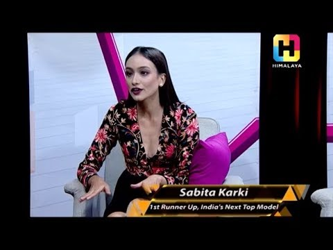 SABITA KARKI | SHARING HER MODELLING PASSION | THE EVENING SHOW AT SIX