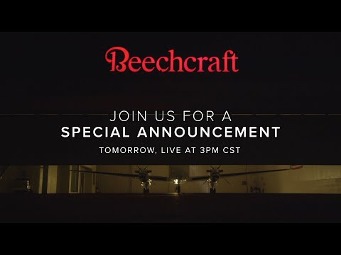 You're Invited: Join Beechcraft For A Special Announcement