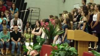 Jasmine Graduation Chorus.