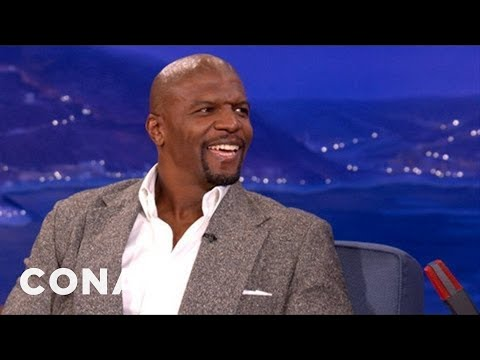Terry Crews Has Superhero Powers - CONAN on TBS