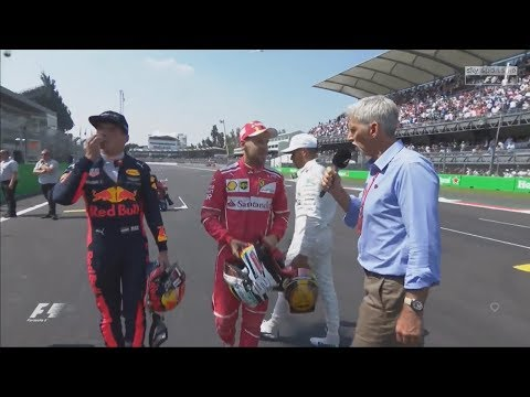Mexico GP Top 3 Post Qualifying Interview