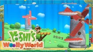 Wollige Windmühlen #2 🧶 Yoshi's Woolly World | Let's Play Wii U