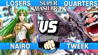 Collision 2019 Losers Quarters - Nairo (Palutena) vs Tweek (Ridley / Wario) - Smash Ultimate