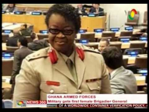 News360 - Ghana Armed forces gets first female Brigadier General - 5/3/2016