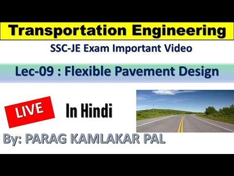 SSC JE 2019 || Lec-09 || Flexible Pavement Design || By Parag Pal