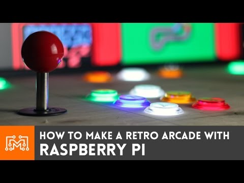 hqdefault raspberry pi retro arcade using retropie (with no programming  at fashall.co