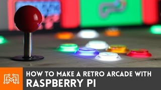 Raspberry Pi Retro Arcade Using Retropie (with No Programming) // How-to