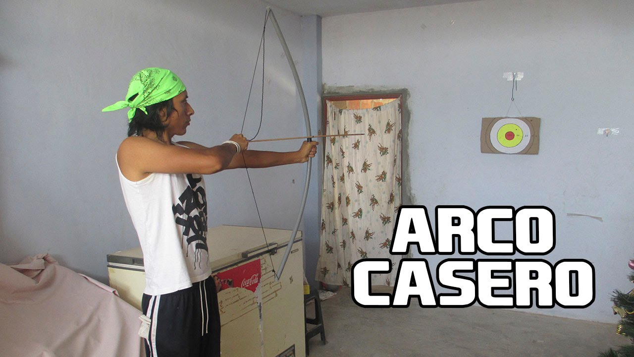 Como hacer un arco casero de pvc f cil y potente armas - Como hacer un toldo casero ...