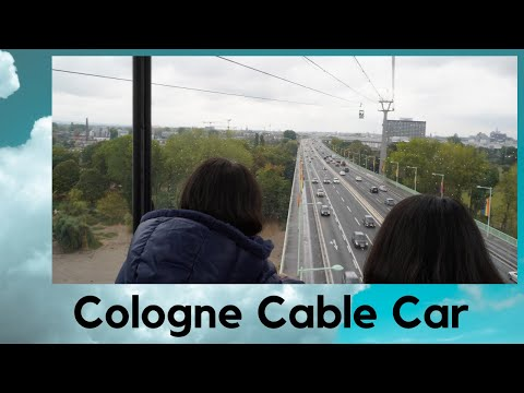 Cologne Cable Car | Germany | Europe | LilaLavendel