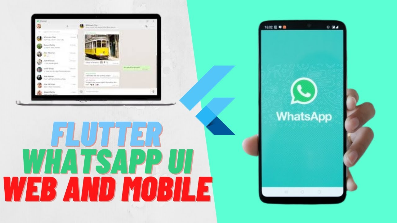 Flutter WhatsApp UI - Web and Mobile - Responsive Design
