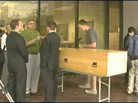 Fox 8: Monks head to court to keep building coffins