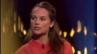 Interview with Alicia Vikander | SVT/NRK/Skavlan