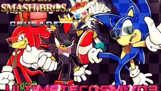 SSBC: EPIC Sonic VS Shadow VS Silver VS Knuckles with New Music!