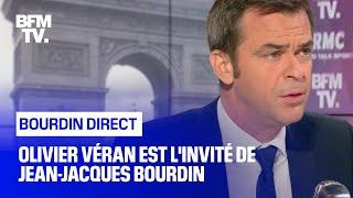 Olivier Véran face à Jean-Jacques Bourdin en direct