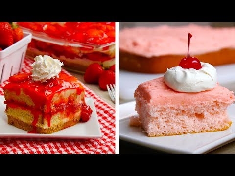 10 Yummy Dessert Ideas | Cakes, Cupcakes & More Easy Dessert Recipes By So Yummy