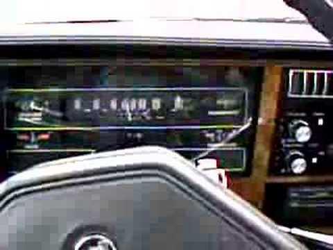 1984 Buick Century interior ride - YouTube