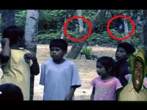 Alien filmed in Brazilian Rainforest!!! Real or Fake?? - YouTube