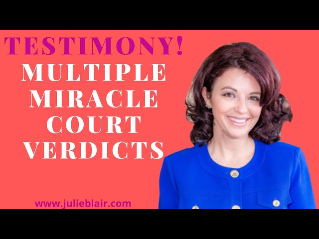 AMAZING TESTIMONY of Multiple Miracles in Court