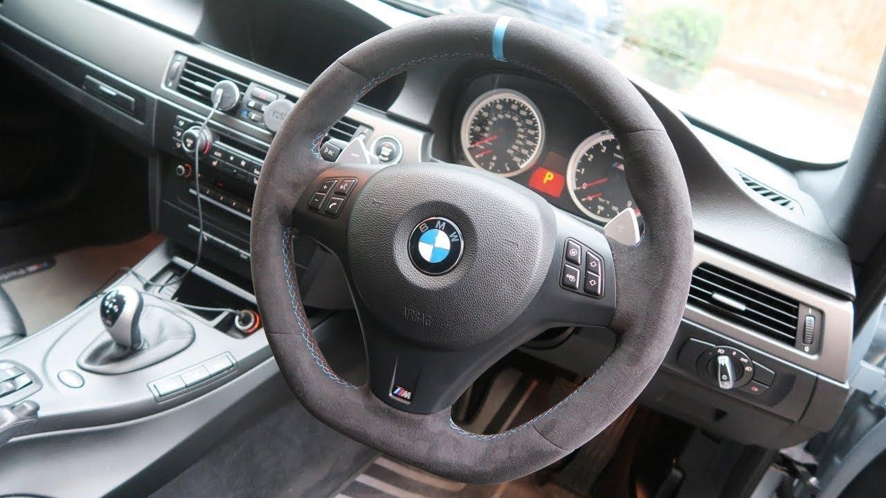 Bmw E92 M3 Genuine M Performance Alcantara Steering Wheel