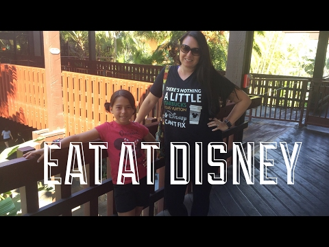 What a Vegetarian eats at Disney March 2017