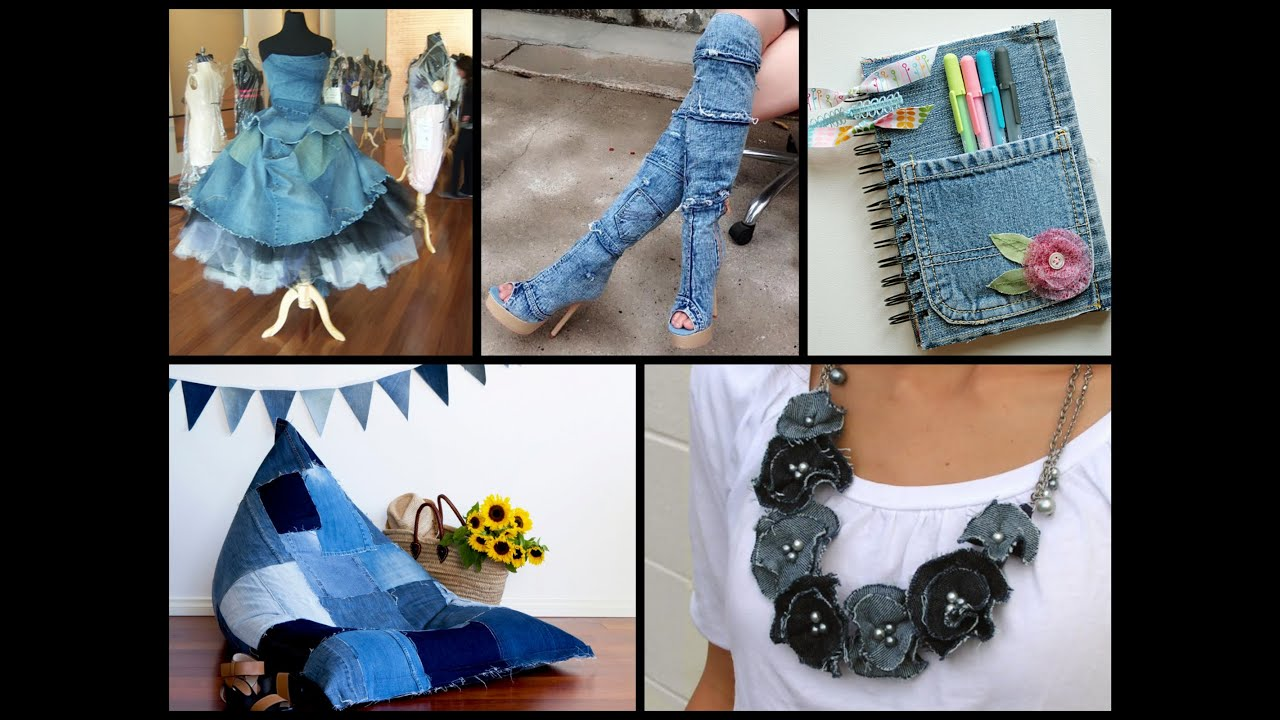 Recycled denim craft ideas simple diy old jeans projects for Recycle project ideas