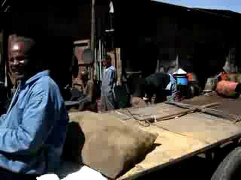 Asmara, Eritrea - Metal Yard