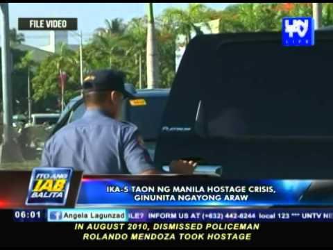 Ika-5 taon ng Manila Hostage Crisis, ginugunita
