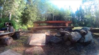 Building Picnic Table May 2014