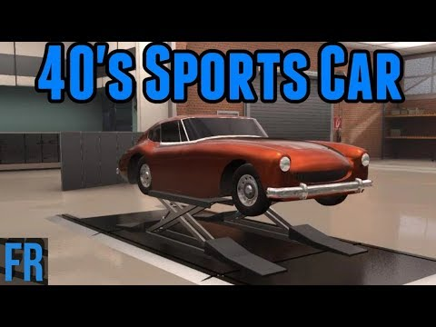 Automation Challenge - 40's Sports Car