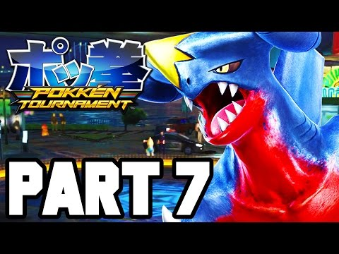 Pokken Tournament Gameplay Walkthrough Part 7 FULL GAME - Single Player / Campaign!! (1080p Wii U)